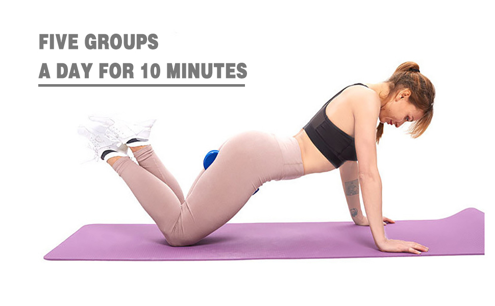 Five Sets per day for 10 minutes