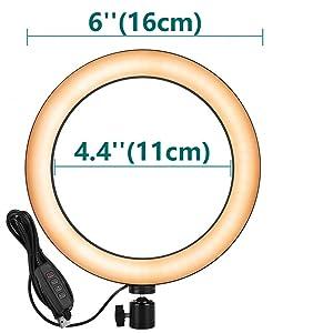 Ring Light Size