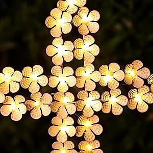 angel stake lights