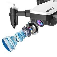 Flashandfocus.com 68a781d0-6bdc-4411-9393-21d38102527e.__CR0,0,300,300_PT0_SX220_V1___ SIMREX X300C Mini Drone RC Quadcopter Foldable Altitude Hold Headless RTF 360 Degree FPV Video WiFi 720P HD Camera 6…