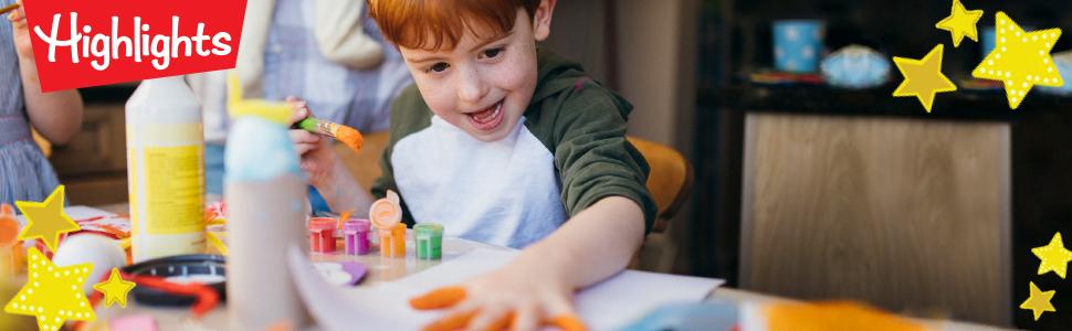 Highlights Crafts, Highlights for Children Crafts, Highlights Crafts Books, Highlights Crafts kids