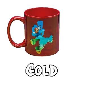 Super Mario Heat Mug Cold