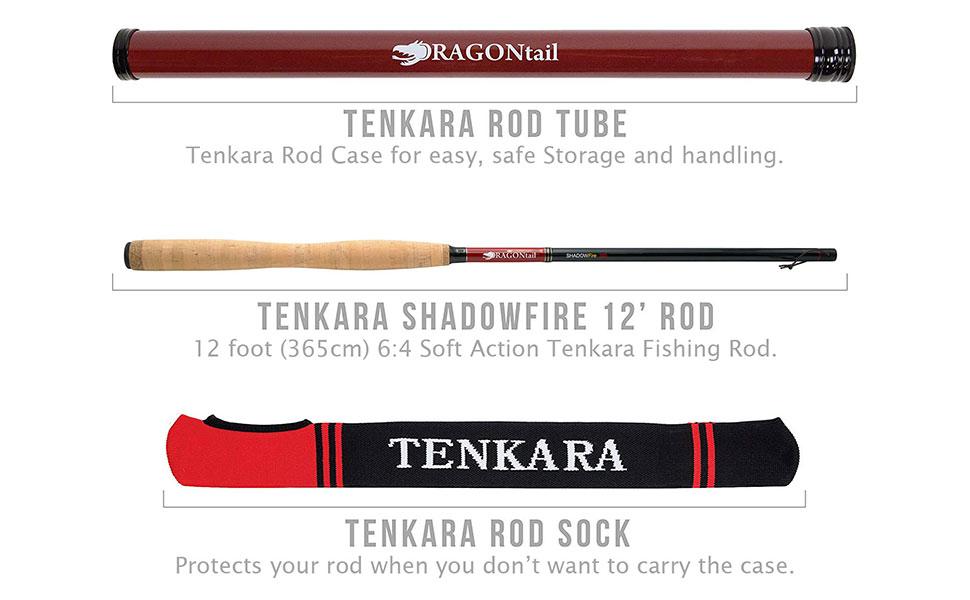 Tenkara Rod, Case and Sock included