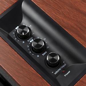 R1700BTs Active Bluetooth Bookshelf Speakers -Wireless Near Field Studio Monitor computer Speaker