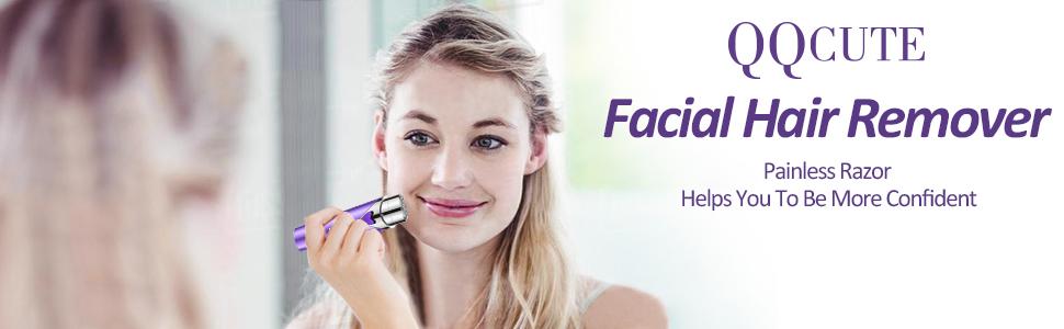QQcute facial hair remover
