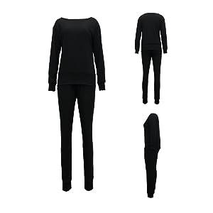 Black Sweatsuit