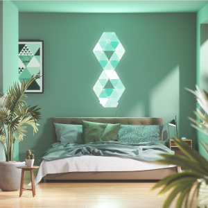 Nanoleaf Light Panels Bedroom