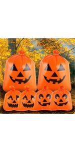 6 Jack O' Pumpkin Lawn Bags