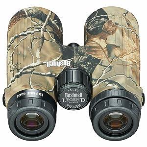 Rear view of Bushnell Ultra HD Realtree Binoculars