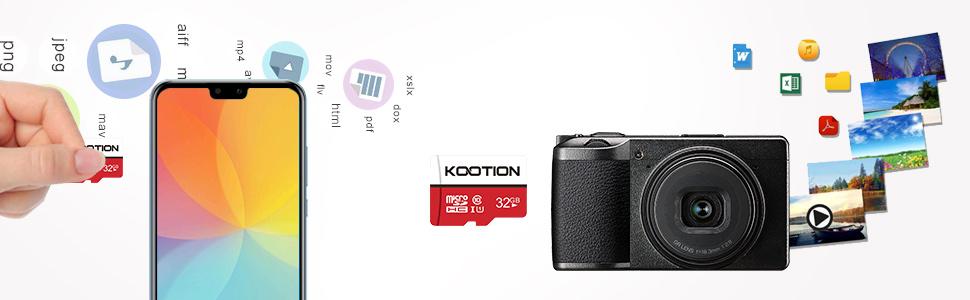 kootion micro sd card