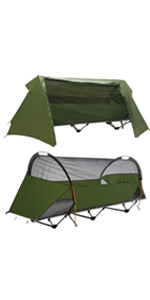 off ground tent cot