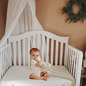 Organic Cotton Crib Sheet Natural