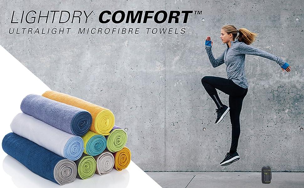 lightdry sporthandtuch fitness-handtuch fit sport mikrofaserhandtuch
