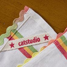 catstudio dish towel details
