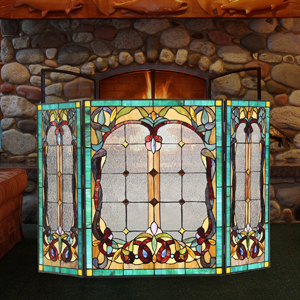 stained glass screens