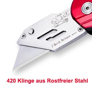 Cuttermesser Cutter Messer Teppichmesser Universalmesser klappbar