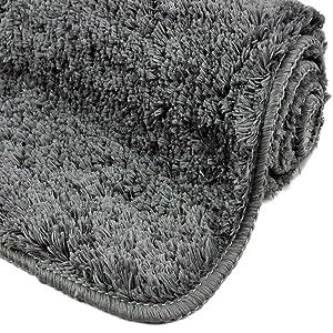 alfombrilla de baño alfombra de baño alfombra baño alfombrilla baño antideslizante gris lavable