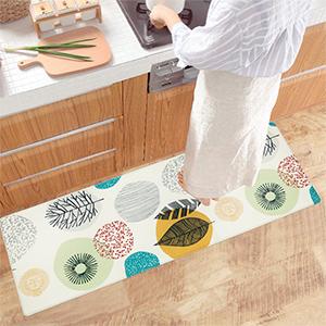 Non slip kitchen rug for kitchen floor