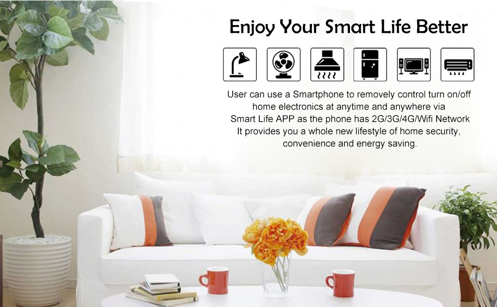 NETVIP Smart Socket brings you a more convenient lifestyle.