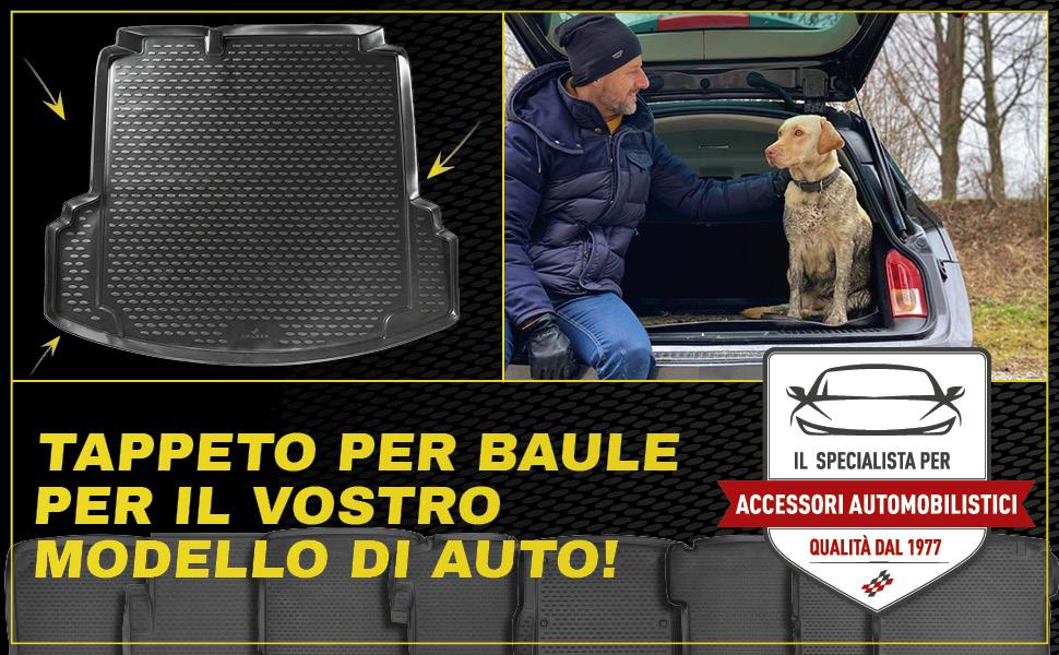 Walser XTR Tapetto per Baule Vassoio per Il Bagagliaio Compatibile con Opel Grandland X A18 Piano di carico Inferiore Anno di Fabbricazione 2017 Fino ad Ora