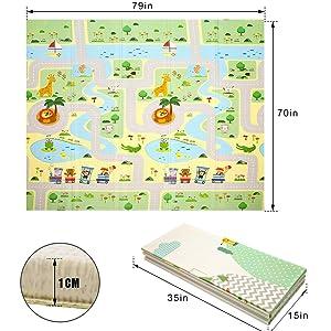 Playroom Mat High Flexibility for Infant