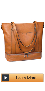 Leather Shoulder Tote Bag for Women