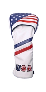 usa flag driver cover leather