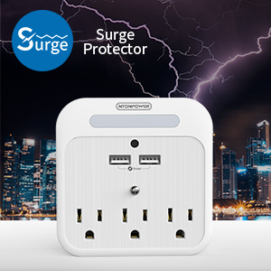 3-Prong Wall Adapter Plug