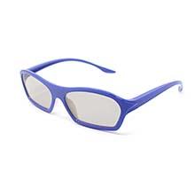 UltraByEasyPeasyStore Ultra 3 Par Azul de Gafas 3D para Adultos ...
