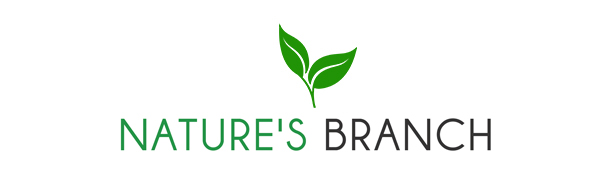 Nature's Branch supplements logo for Ashwagandha Organic Ashwagandha root powder extract capsules