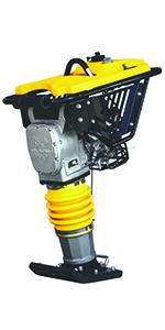 tamper plate compactor jumping jack tamp wacker neuson compactors hand dirt tool pad steel honda