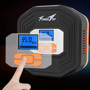 68e07677 d8a2 4e0e bf0b 2d95b4aeb320. CR0,0,300,300 PT0 SX300 V1 - Air Compressor, 12V DC Portable Auto Tire Inflator Air Compressor, Car Tire Pump with Digital Display Pressure Gauge for Car, Bicycle, Sport Balls and Other Inflatables (Type 1)