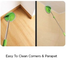 parapet cleaning
