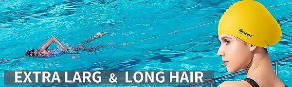 silicone swim cap long hair extra large kid swim cap women swimming cap caps swiming men pool caps