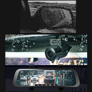 foggy rear view mirrors
