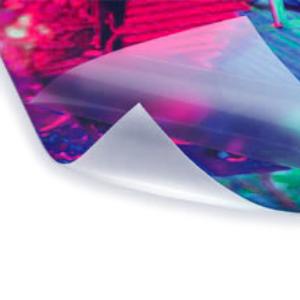 uv gloss print laminated lamination