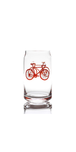 Bicycle beer can
