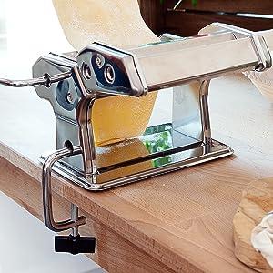nudelmaschine klemmbügel