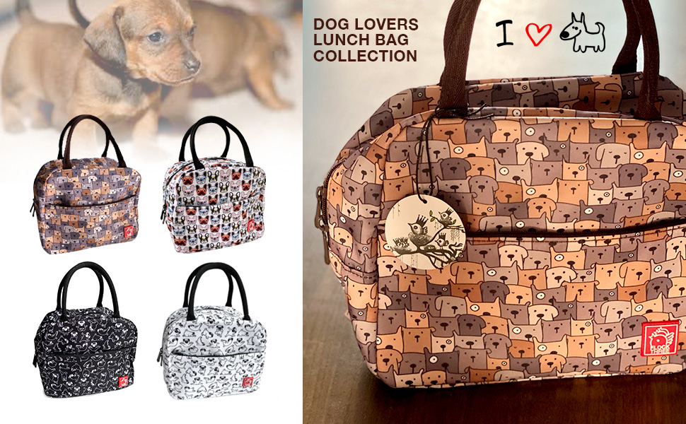 DOG LOVERS LUNCH BAG COLLECTION