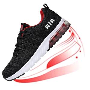 Mishansha Zapatillas de correr para hombre y mujer, amortiguación, antideslizantes, transpirables, ligeras, zapatillas de deporte, talla 36 – 46, color Gris, talla 44 EU: Amazon.es: Zapatos y complementos
