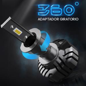 H1 LED 12000LM Bombillas Faros Delanteros para Coches, Kits de ...