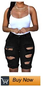 women bermuda denim shorts