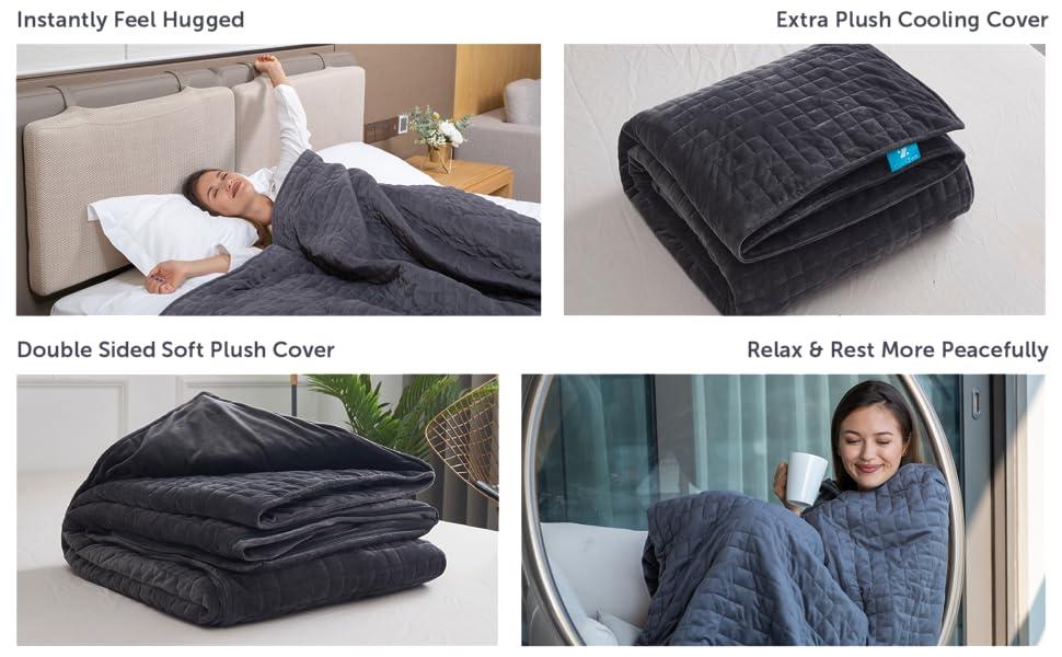 Relax Weighted Blanket CoolZen Sleep