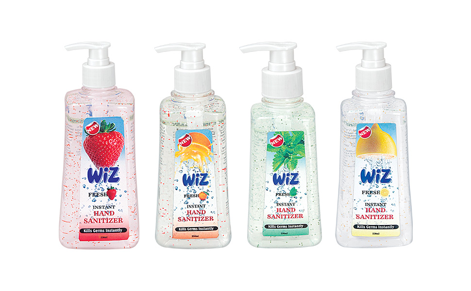 Buy Wiz Liquid Soap Hand Sanitizer Flip Top Cap Bottle 100ml