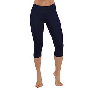 ODODOS Womens Tummy Control Yoga Capris Non See-Through Workout Leggings with Pocket