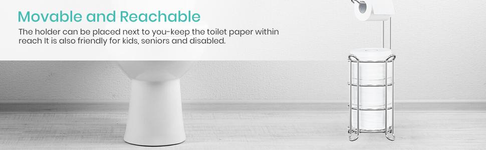 bath tissue holder