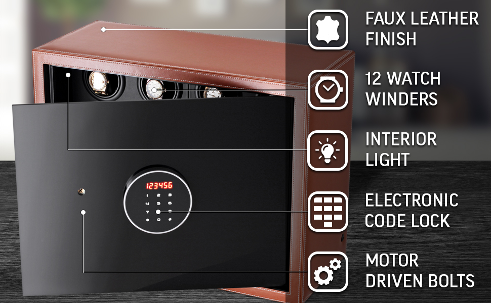 Security safe for watches
