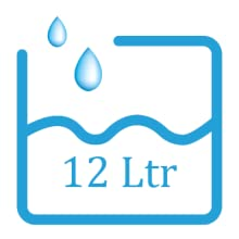 12 Ltr capacity