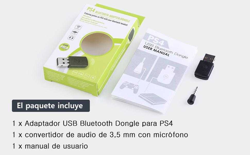 MagiDeal Adaptador Wireless USB Bluetooth V4.0 + EDR Dongle para Sony Playstation PS4 Controlador: Amazon.es: Juguetes y juegos