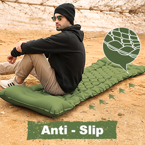 Camping Air Sleeping Pad Hiking Traveling, Durable Waterproof Air Mattress Compact Hiking Pad